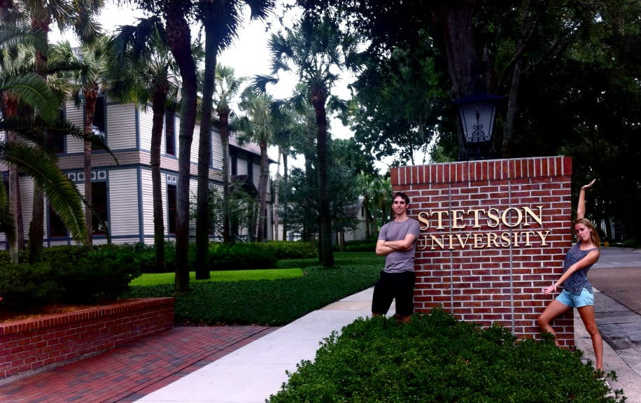 A Whirlwind Trip to Stetson University