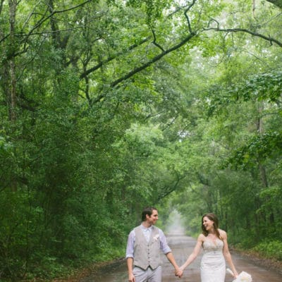A Giant Tree, A Thunderstorm, And A Perfect Wedding